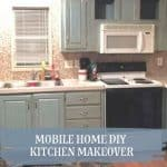 Mobile Home DIY Kitchen Makeover