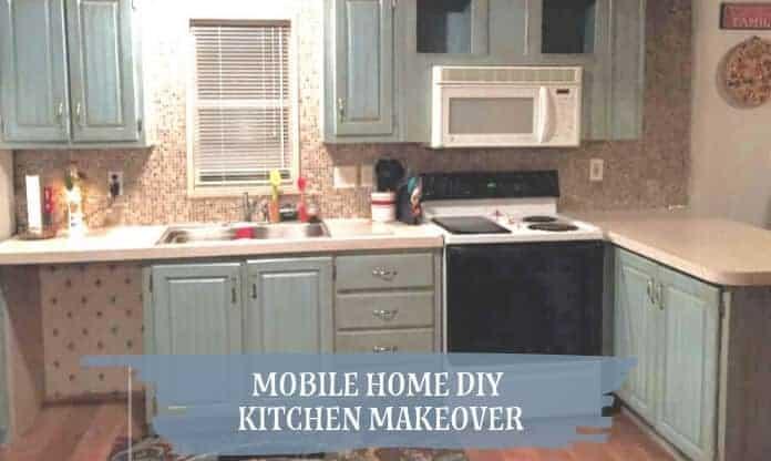 Mobile Home DIY Kitchen Makeover