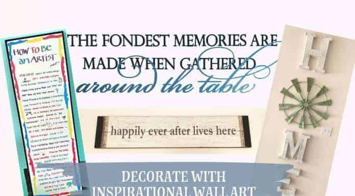 Decorate with Inspirational Wall Art