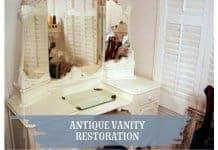 Antique Vanity Restoration