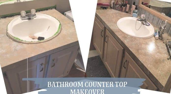 Counter Top Makeover