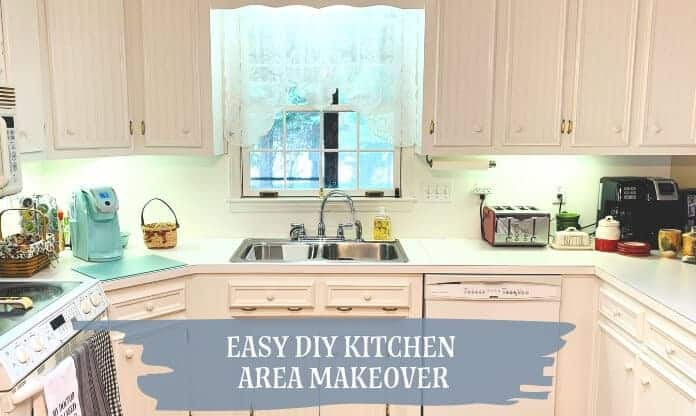 Easy DIY Kitchen Makeover