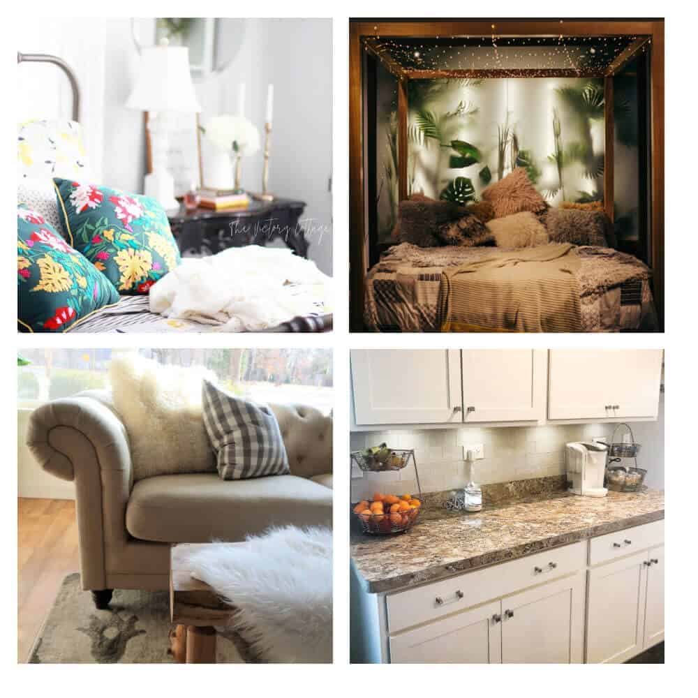 Comfy Cozy Home - Style your Home Blog Hop