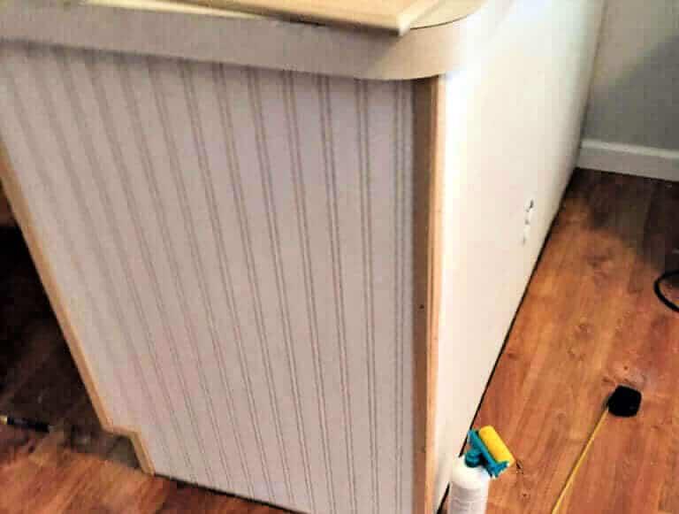 Mobile Home DIY Kitchen Makeover cabinets