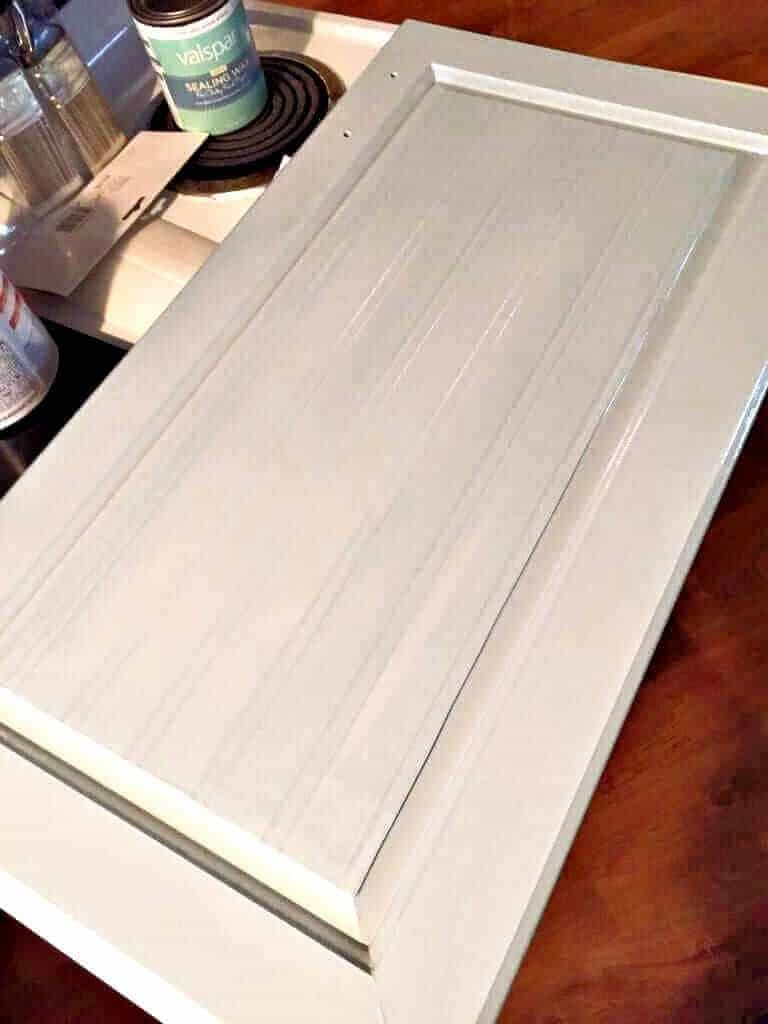 Kitchen Makeover Chalk Paint