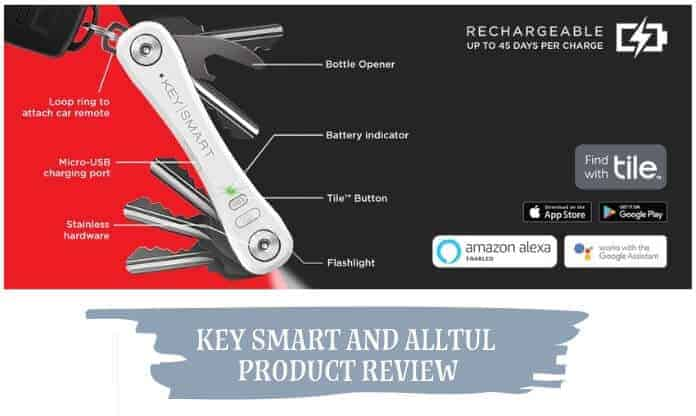 Smart Keychain Product Review: Key Smart and Alltul