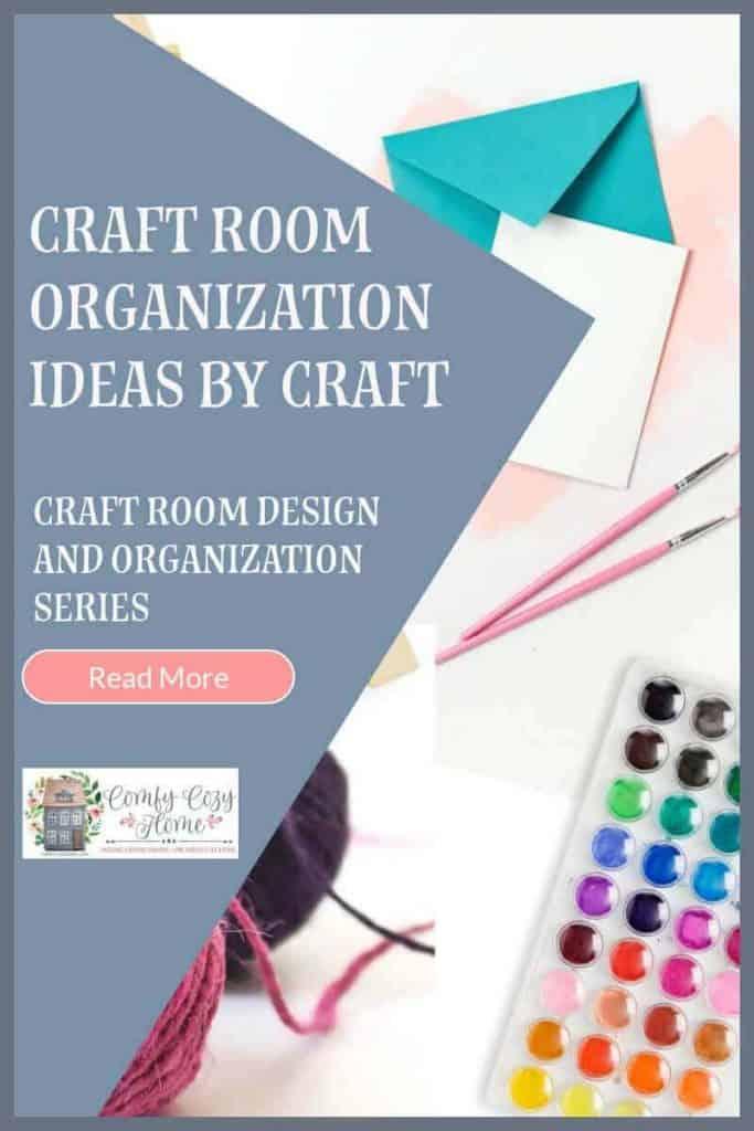 Craft Room Organization Ideas by Craft