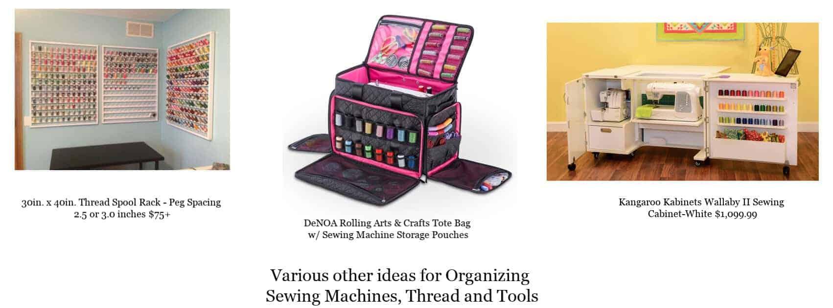 Sewing Craft Room Organization