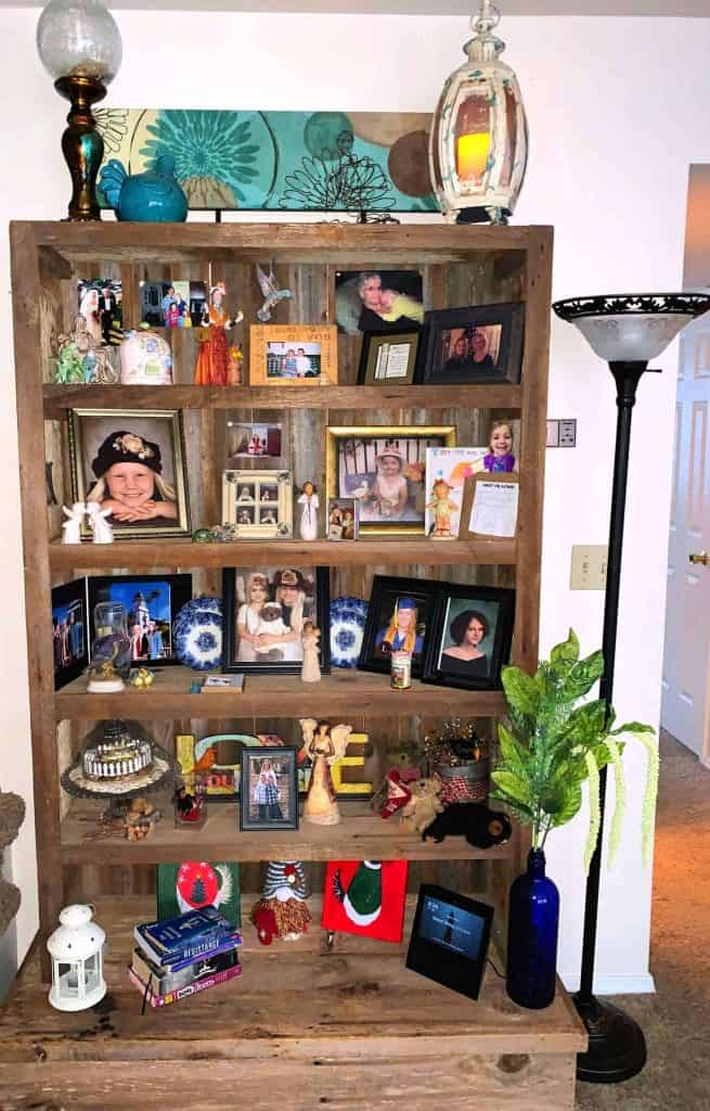 After Shelves are Decorated