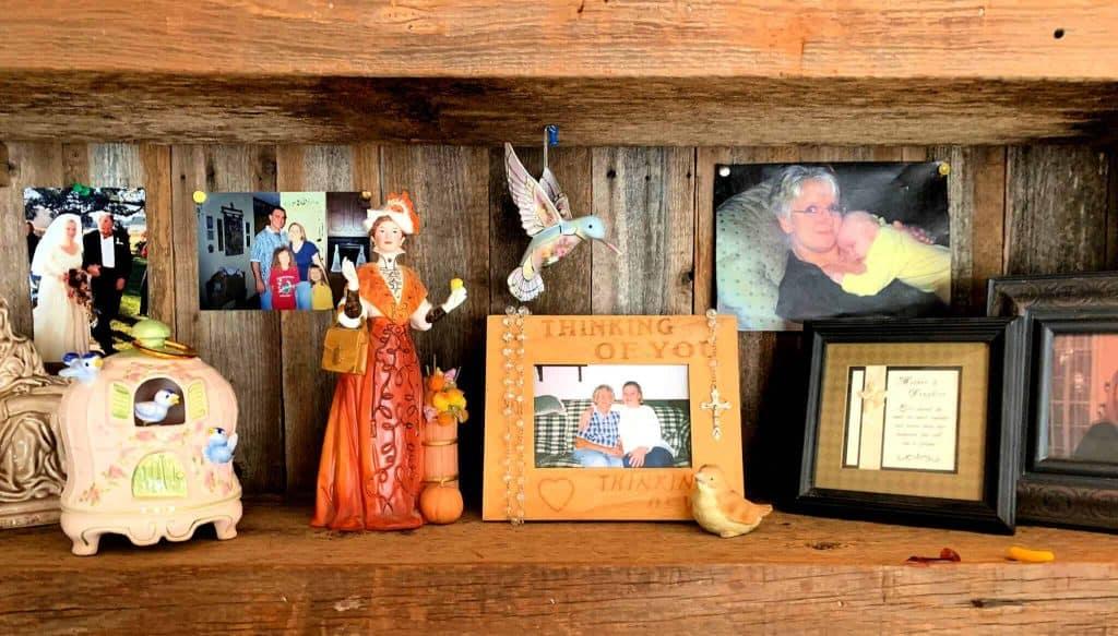 Shelf One Decorated
