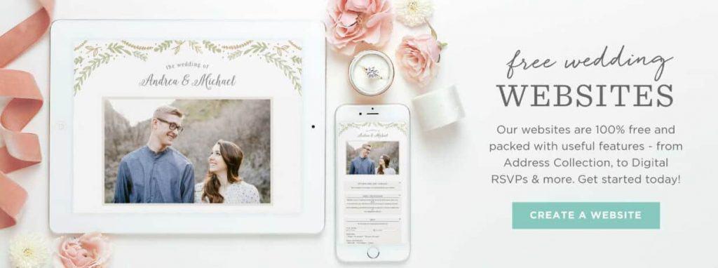 BasicInvite.com Free Wedding Website