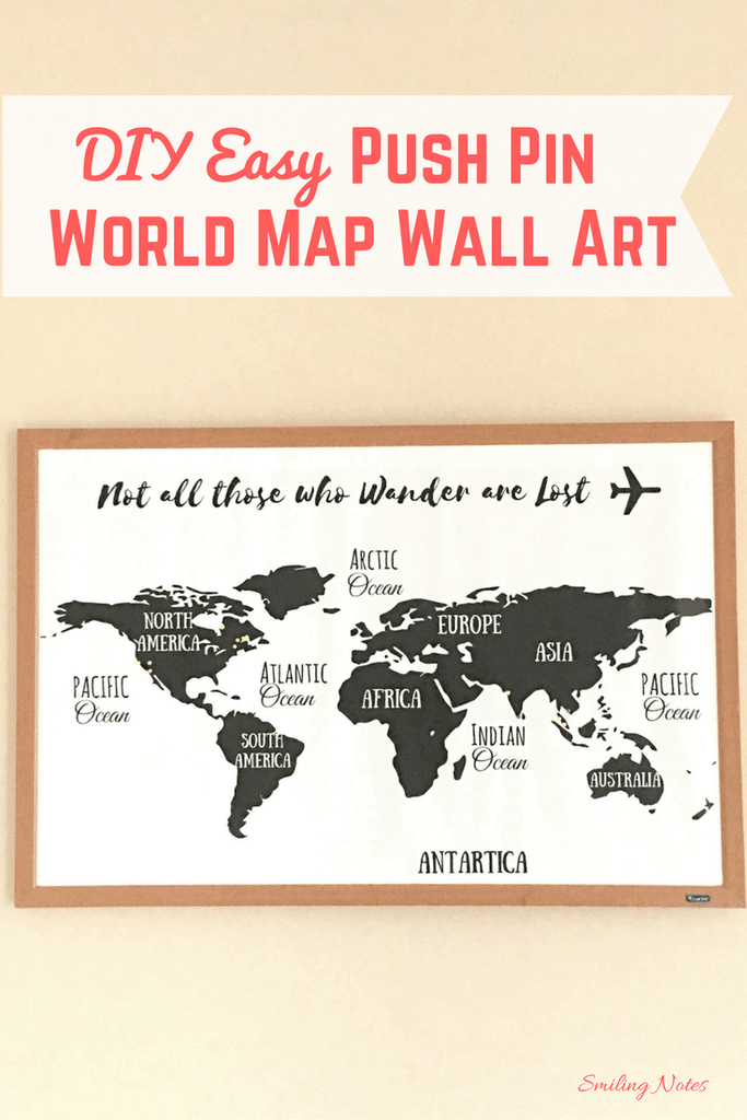 This image has an empty alt attribute; its file name is DIY-Easy-Push-Pin-World-Map-Wall-art-1-683x1024.png