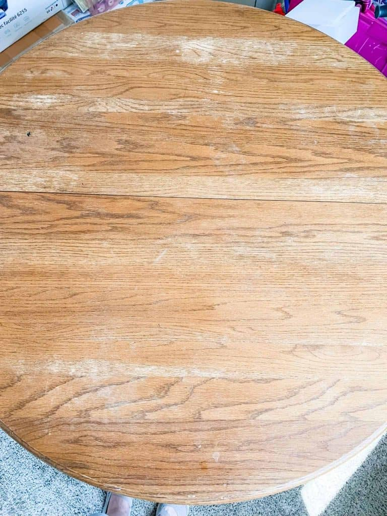 Refinishing an Oak Table
