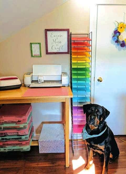 Craft Room Ideas by Facebook Member Cassie Gagnon