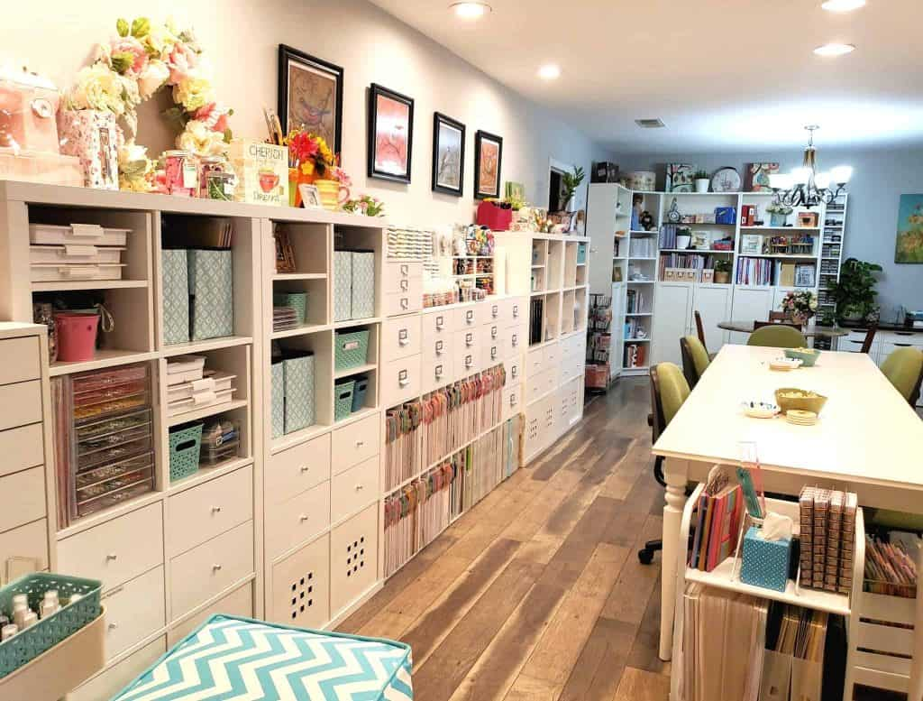 Craft Room Ideas by Facebook Member Karen Yegel