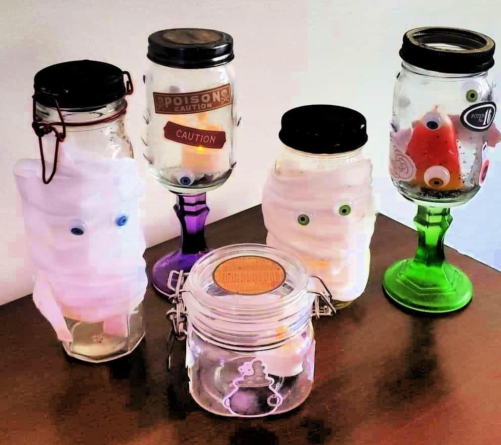 Ghost Jar Crafts