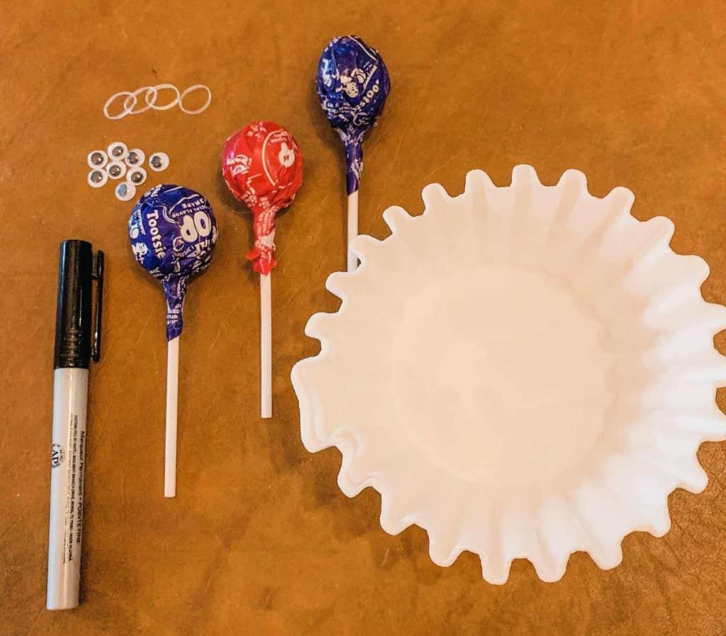 Ghost Pops Craft Supplies