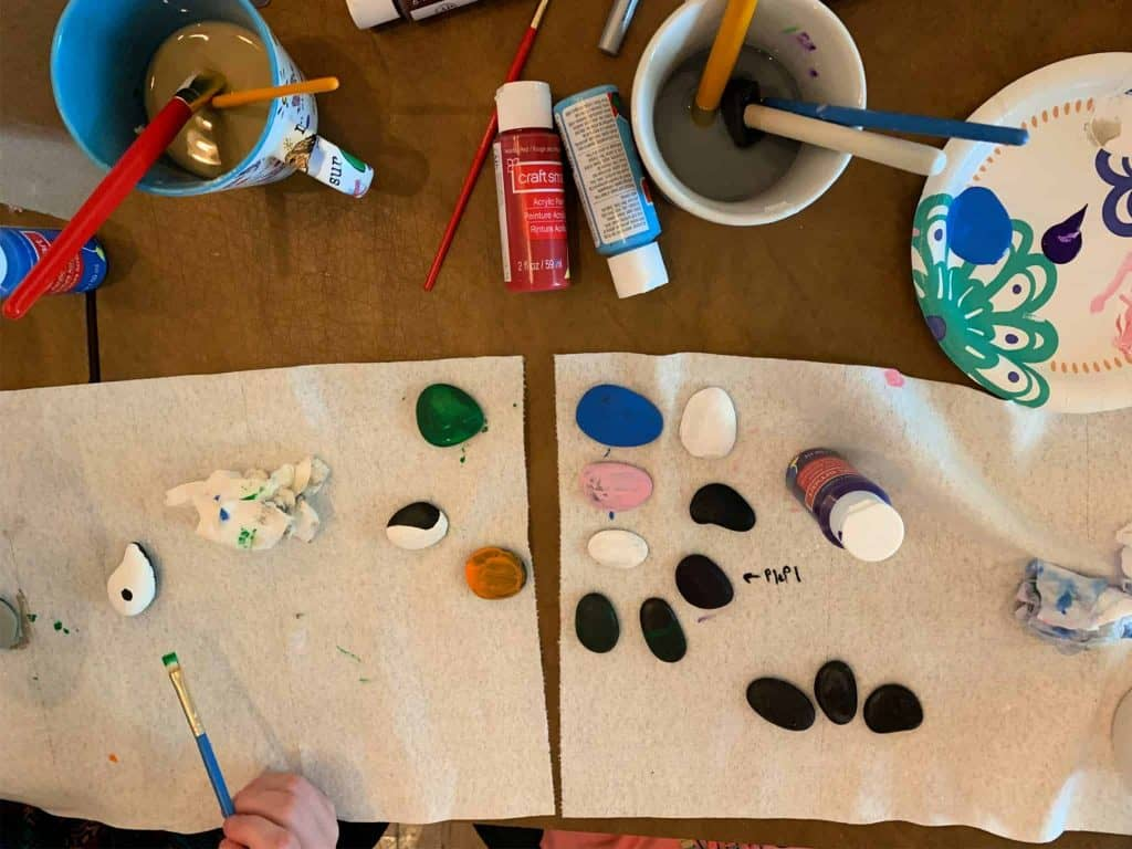 Painting Monster Rocks