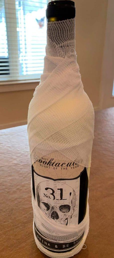 Mummy Bottle Craft