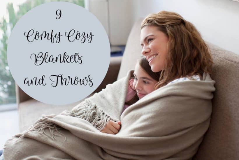 9 Comfy Cozy Blankets and Throws