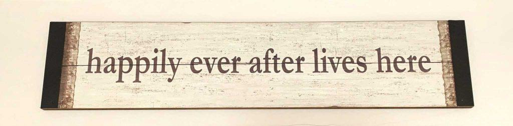 Decorating with Inspirational Wall Art Happily Ever After